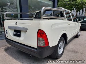Ssangyong Actyon Sports Double-Cab 2.0M (New 10-yr COE)