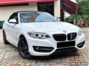 BMW 2 Series 218i Convertible Sport