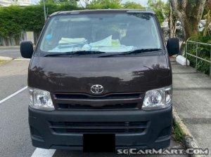 Toyota Hiace 3.0M (New 10-yr COE)