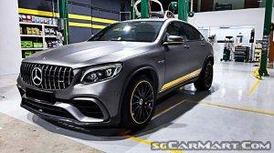 Mercedes-Benz GLC-Class GLC43 Coupe AMG 4MATIC Premium Sunroof