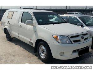 Toyota Hilux Single-Cab (New 5-yr COE)