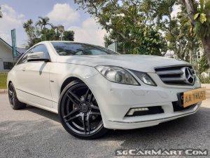 Mercedes-Benz E-Class E200 CGI Coupe (New 10-yr COE)