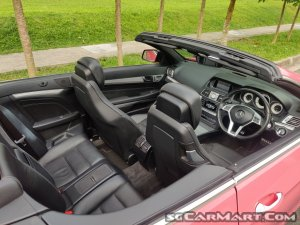 Mercedes-Benz E-Class E200 Cabriolet AMG Line