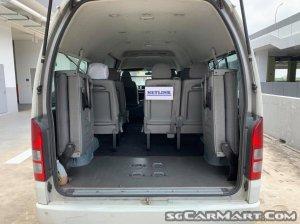 Toyota Hiace Commuter 3.0A High Roof (COE till 04/2025)