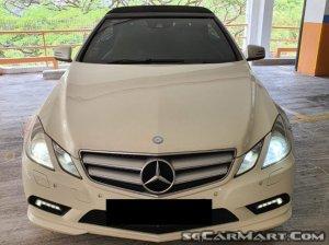 Mercedes-Benz E-Class E250 CGI Cabriolet (New 10-yr COE)