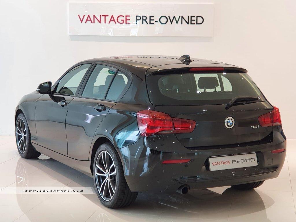 2019 BMW 118i 5DR