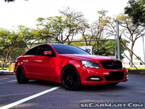 Mercedes-Benz C-Class C250 Coupe (New 10-yr COE)