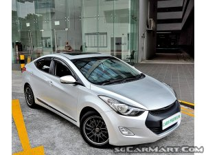 Hyundai Elantra 1.6A Sunroof (New 10-yr COE)