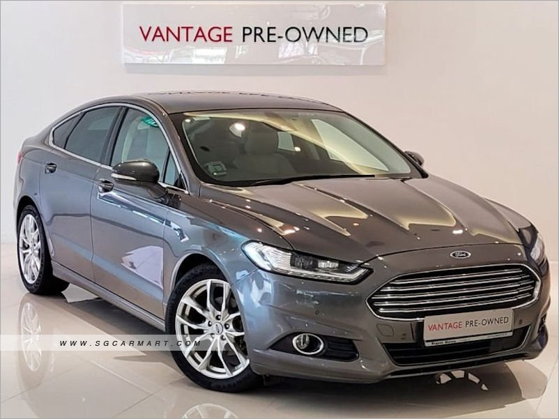 2017 Ford Mondeo 2.0A GTDI Ecoboost Titanium
