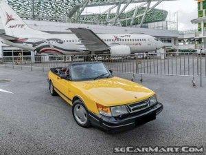 Saab 900S Convertible (New 10-yr COE)