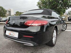 Mercedes-Benz C-Class C180 Cabriolet AMG Line