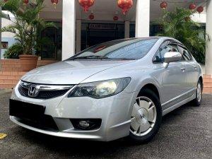 Honda Civic Hybrid 1.3A (COE till 04/2029)