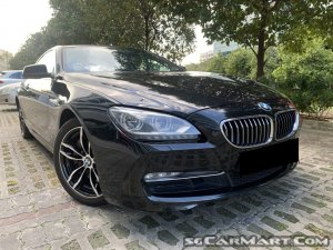 BMW 6 Series 640i Coupe Sunroof (New 10-yr COE)