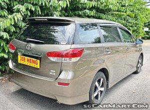Toyota Wish 1.8A (New 10-yr COE)