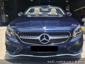 Mercedes-Benz S-Class S500 Cabriolet AMG Line