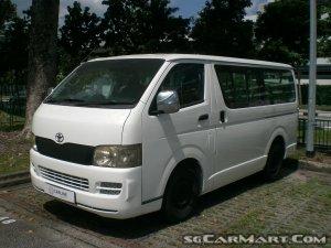 Toyota Hiace Commuter 3.0M (COE till 10/2022)