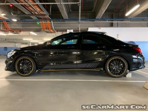 Mercedes-Benz CLA-Class CLA45 AMG 4MATIC Yellow Night Edition