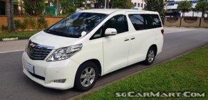 Toyota Alphard 2.4A (COE till 12/2030)