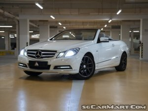 Mercedes-Benz E-Class E250 CGI Cabriolet (COE till 09/2030)