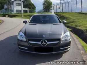 Mercedes-Benz SLK-Class SLK200 (New 10-yr COE)