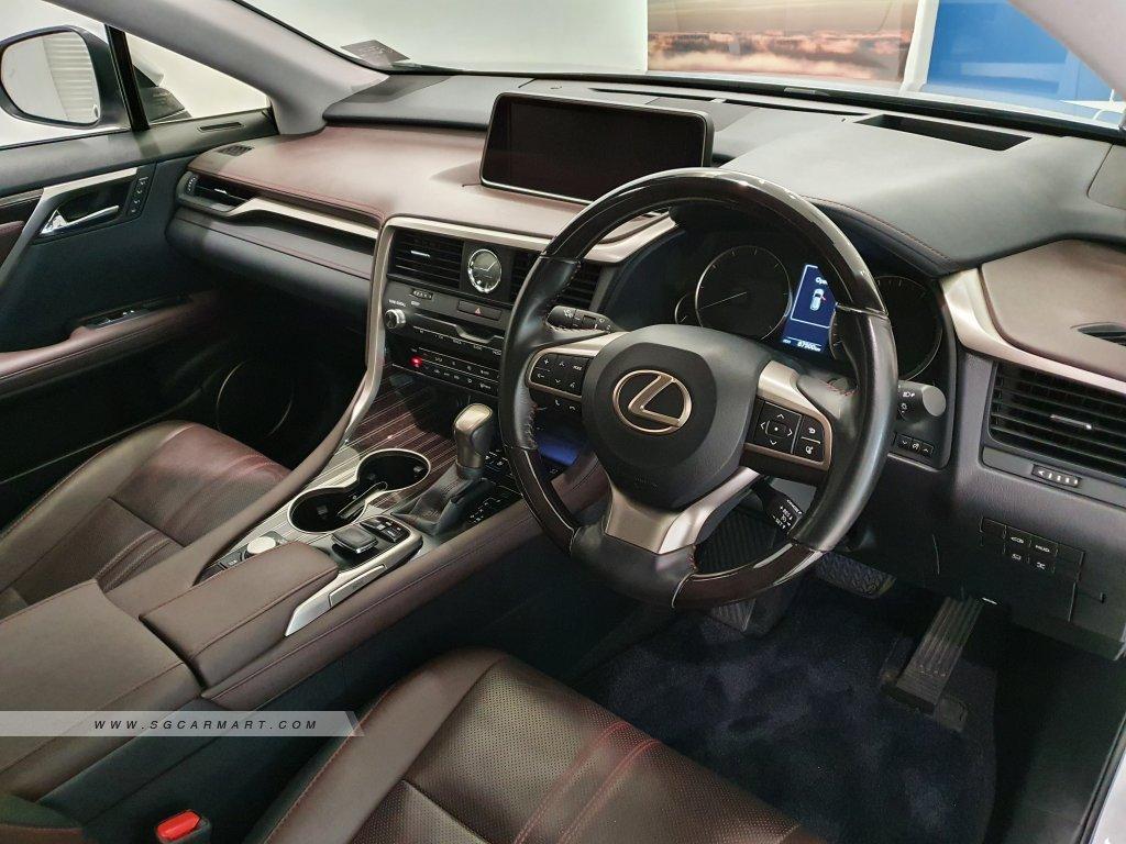2016 Lexus RX Turbo RX200t Luxury Sunroof