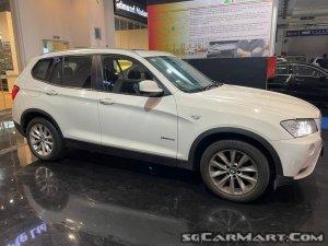 BMW X3 xDrive20i Sunroof (New 10-yr COE)