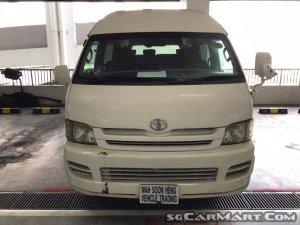 Toyota Hiace Commuter 3.0A GL (COE till 05/2023)