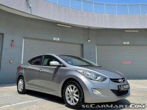 Hyundai Elantra 1.6A Elite Sunroof (New 5-yr COE)