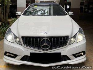 Mercedes-Benz E-Class E250 CGI Cabriolet (COE till 06/2030)