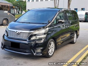 Toyota Vellfire 2.4A Z Platinum Selection (COE till 04/2030)