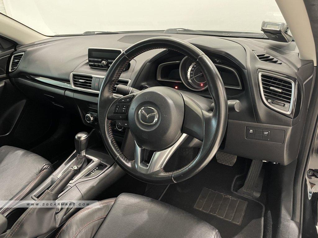 2016 Mazda 3 1.5A