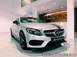 Mercedes-Benz C-Class C200 Coupe AMG Line Sunroof