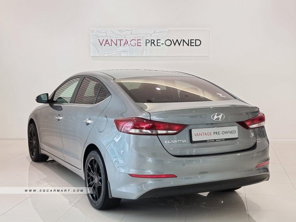 2018 Hyundai Elantra 1.6A GLS