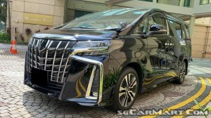Toyota Alphard 2.5A S C-Package