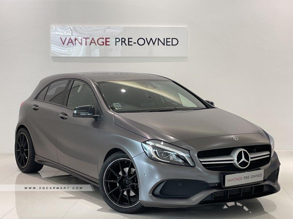 2017 Mercedes-Benz A180d AMG Line