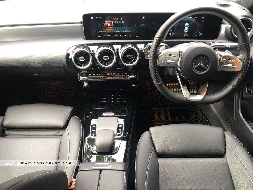 Mercedes-Benz CLA-Class CLA180 AMG Line