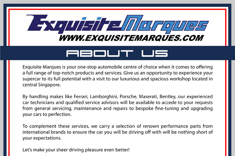 Exquisite Marques Pte Ltd