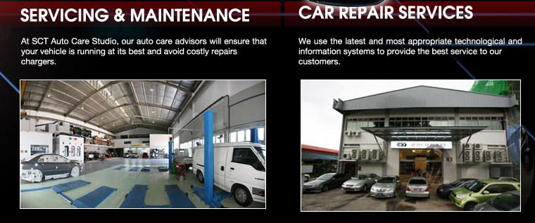 SERVICING & MAINTENANCE & CAR REPAIR SERVICES