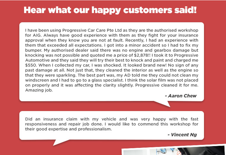 Hear What Our Happy Customers Said