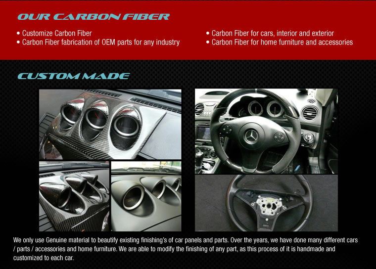 Our Carbon Fiber