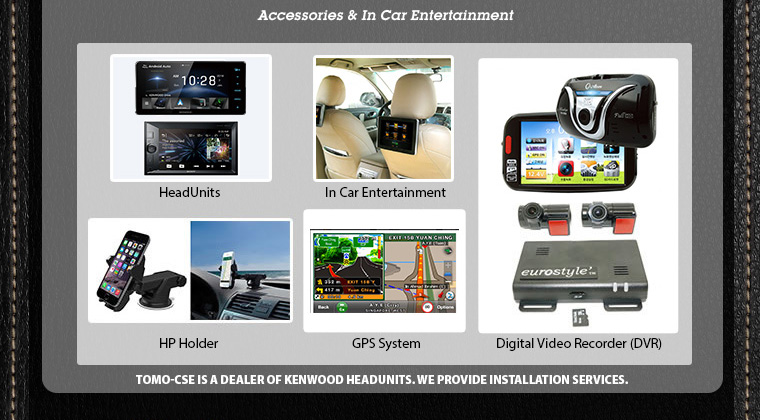 Accessories and In Car Enterainment