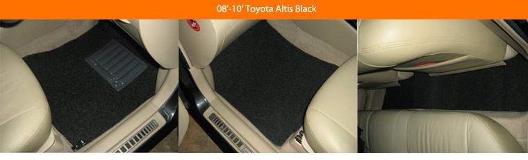 08'-10' Toyota Altis Black