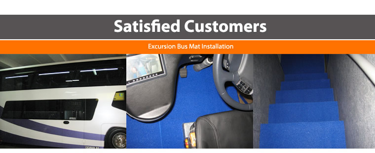 Excursion Bus Mat Installation