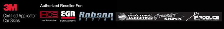 3M Certified Applicator Car Skins