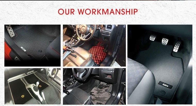out workmanship