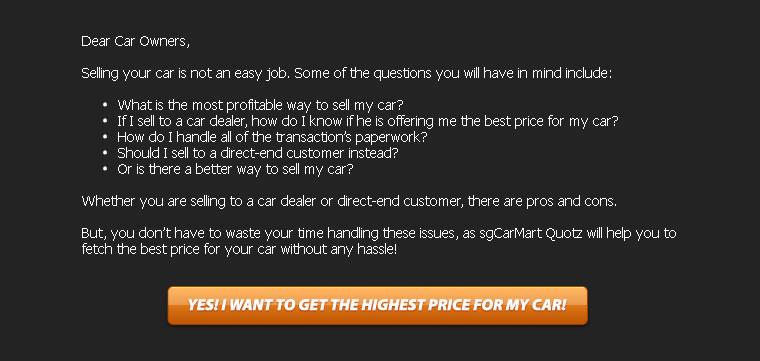 Dear Car Owner