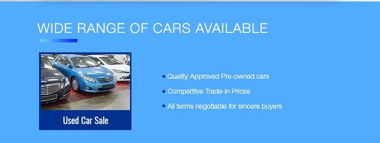 cars available