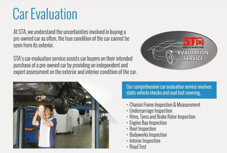 Vehicle Evaluation
