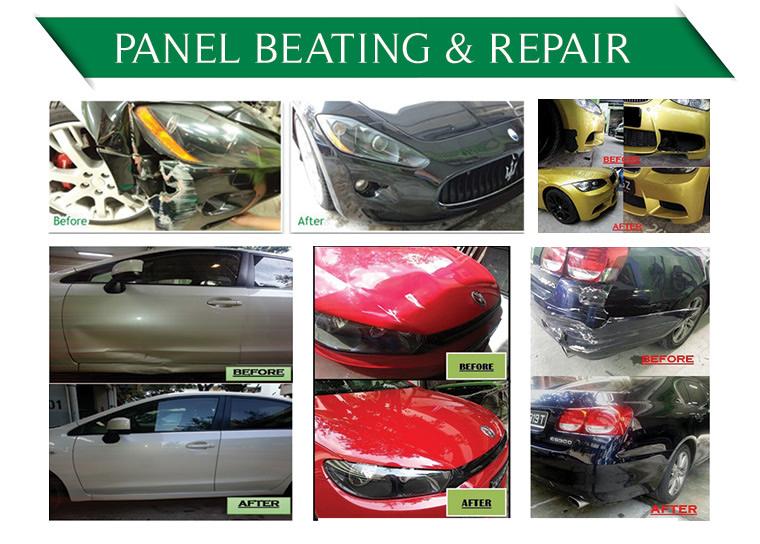 Panel Beating & Repair
