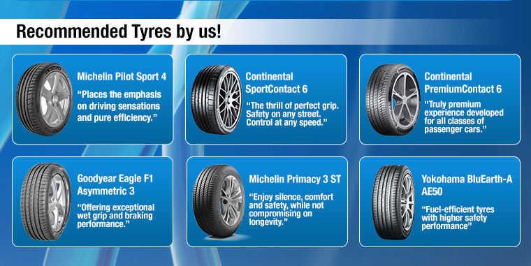 Recommended Tyres by us